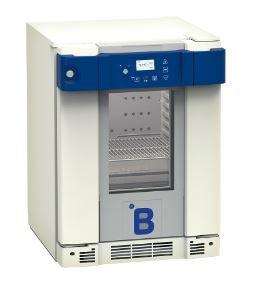 B Medical P55 medicijn / laboratorium koelkast DIN 58345 met glasdeur