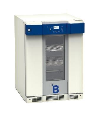 B Medical P130 medicijn / laboratorium koelkast DIN 58345 met glasdeur