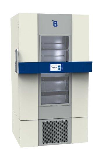B Medical P900 medicijn / laboratorium koelkast DIN 58345 met glasdeur
