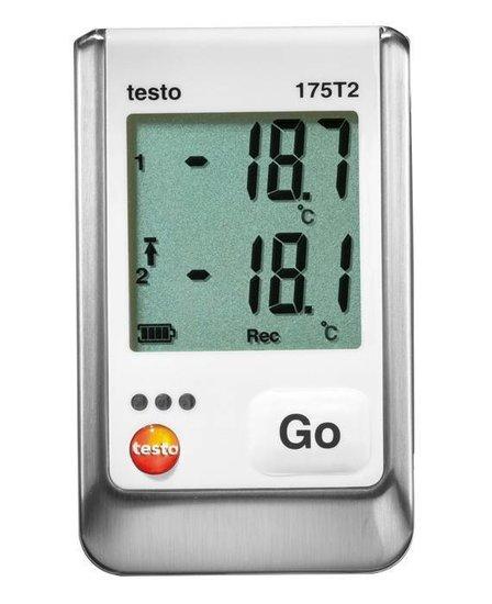 Testo 175 T2 temperatuur datalogger